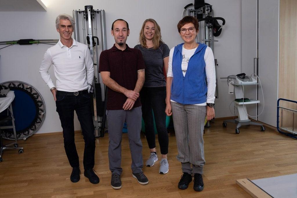 Physio Sonnenstraße München Teamfoto
